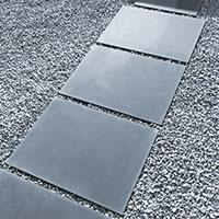 Link zu Seite Großformatplatten / Terrassenplatten in Sichtbeton
